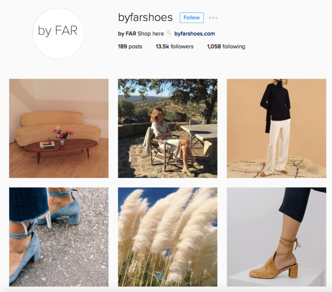 Follow @ByFarShoes on Instagram.